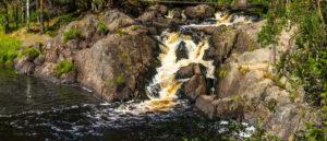 Ахвенкоски — «окуневый порог» в Карелии