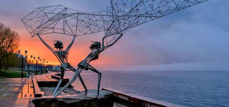Скульптура «Рыбаки», Петрозаводск