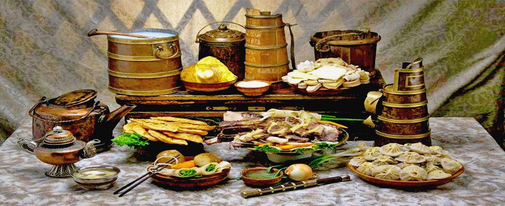 В рационе монголов — мясо всех видов и способов приготовления, овощей и фруктов почти нет