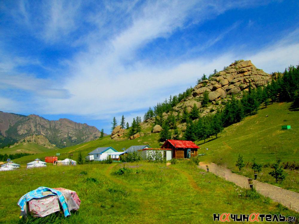 В Монголии прохладно: в июле воздух прогревается до 18—20 градусов