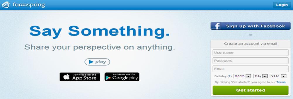 Formspring — сеть для анонимного общения в формате вопрос/ответ
