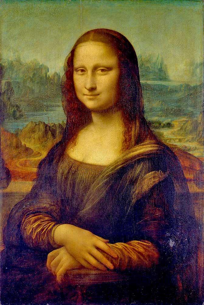 «Мона Лиза» (1503—1505/1506). Одно из самых известных произведений Леонардо да Винчи и живописи в целом
