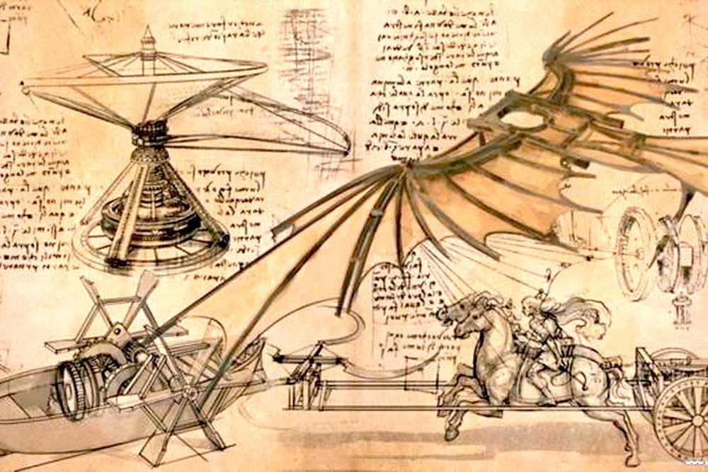 Леонардо да Винчи — художник, архитектор, анатом, гидравлик, инженер, декоратор, сочинитель загадок, ребусов и басен, музыкант и теоретик живописи