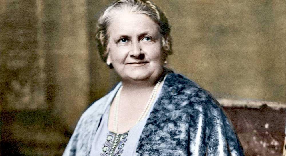 Мария Монтессори (1870—1952), педагог-новатор, первая в истории Италии женщина — доктор медицины