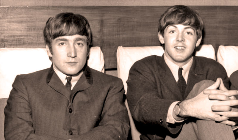 Джон Леннон и Пол Маккартни — начало истории The Beatles