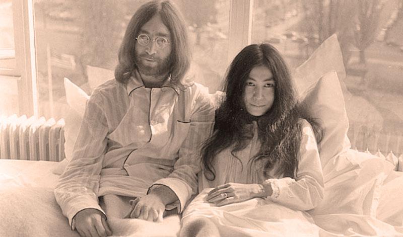«Лежачая демонстрация за мир» Джона Леннона и Йоко Оно