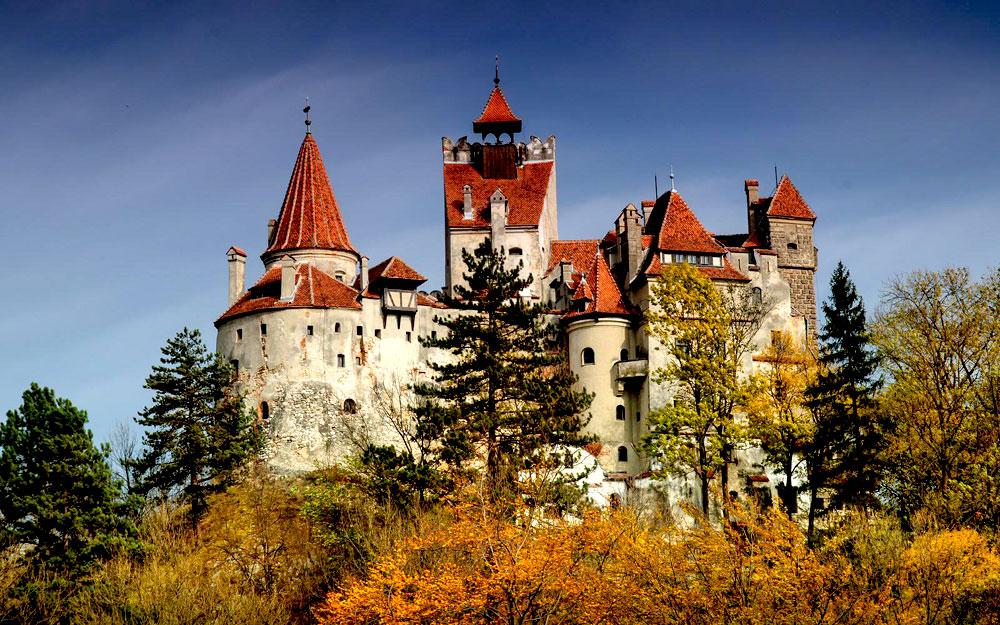 Замки Дракулы, Трансильвания
