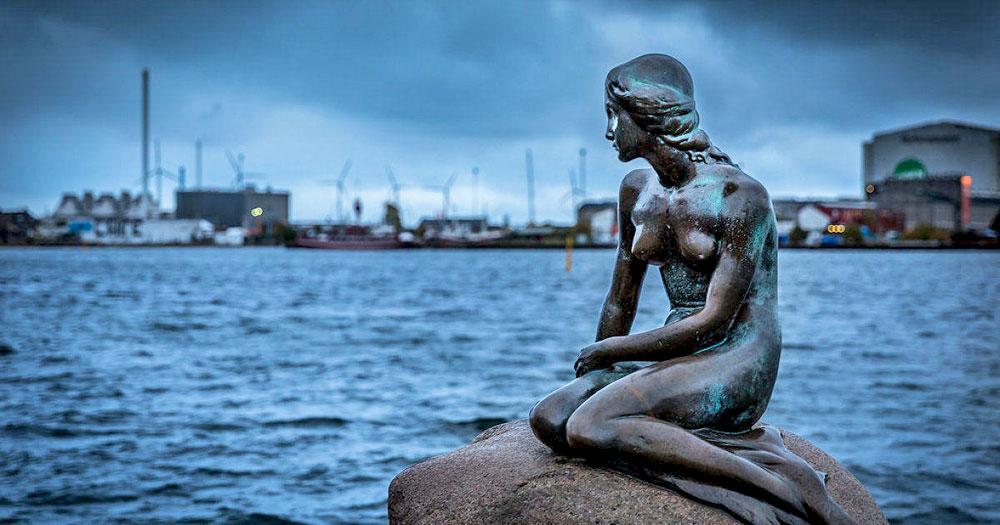 Статуя Русалочки, Копенгаген