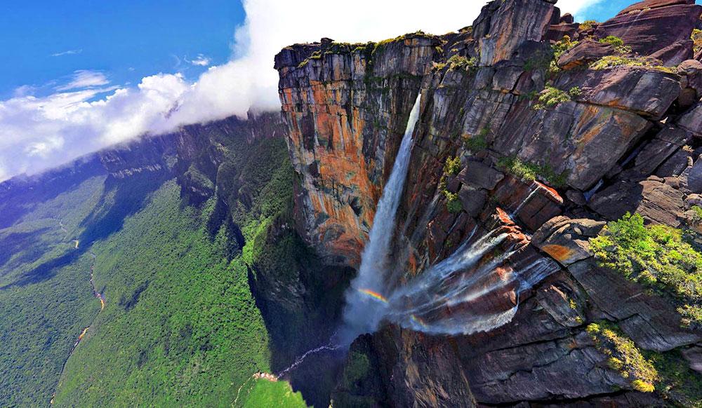 Водопад Анхель, Венесуэла, Южная Америка