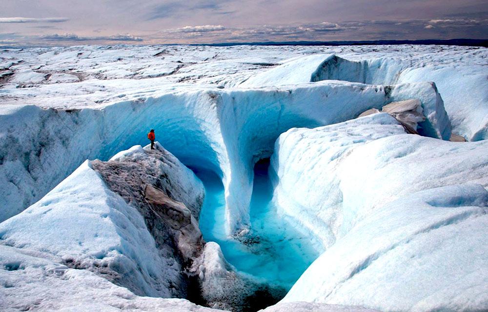 Ледяной каньон, Гренландия, Северная Америка