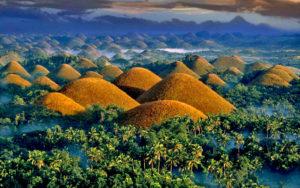 Шоколадные холмы, остров Бохол, Филиппины